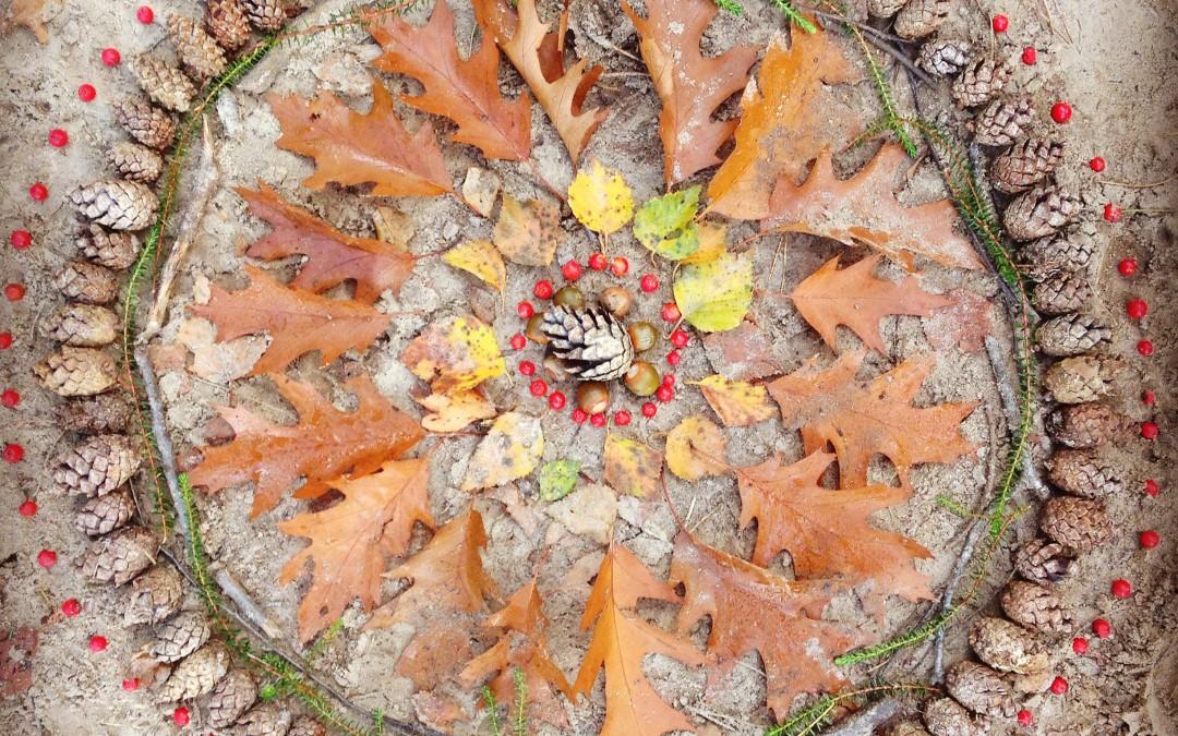 Katrien de Jong - natuur mandala