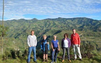 De reis naar Ecuador, verslag en foto's