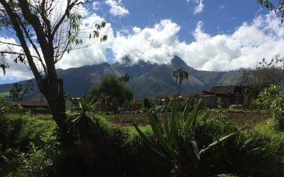 Wat staat je in de weg om je doel te bereiken? Een voorbeeld van natuurcoaching in Ecuador.