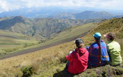 Over vertrouwen, Ecuador en luisteren naar de natuur.