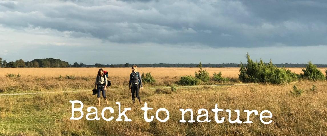 Back to nature - Katrien de Jong